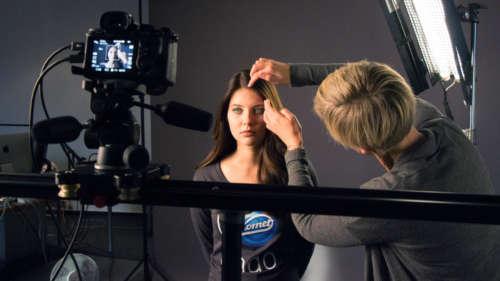 The photo shooting for Komet's Endo innovation.